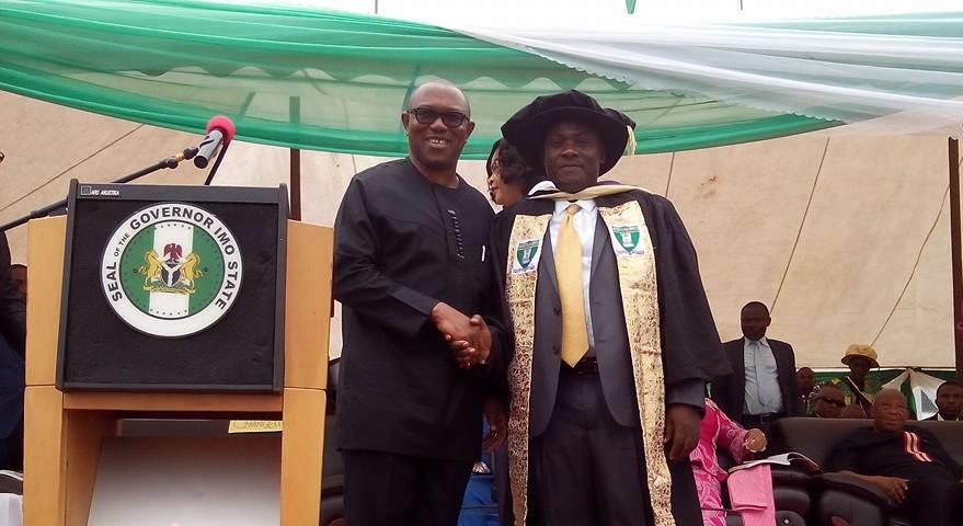 Innocent Ifediaso Chukwuma with Mr Peter Obi